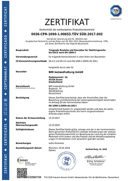 Annika Zaremski Zertifikate DE HP HP R
