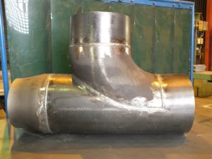 Fertigung Rohrformstueck